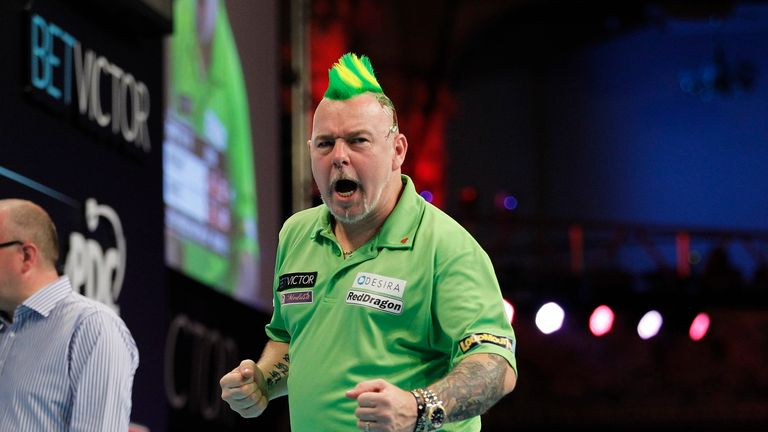 Peter Wright also booked his place in the quarter-finals