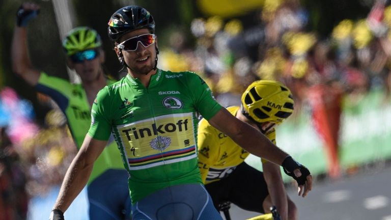 Sagan has won three stages of this year's Tour de France