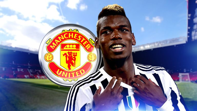 Paul Pogba is set to have a medical at Manchester United