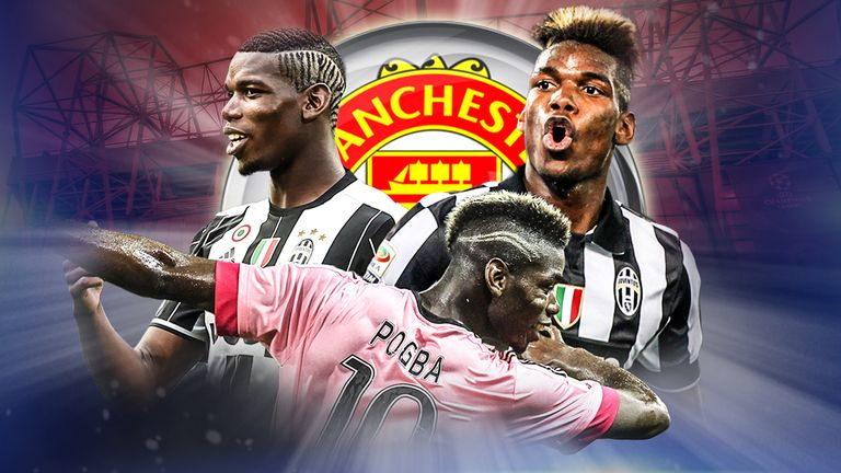 Manchester United have signed Paul Pogba from Juventus
