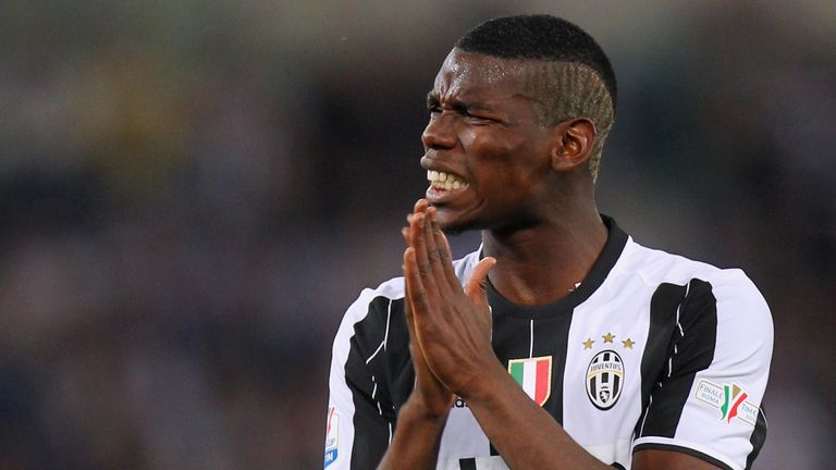 Pogba has won four Serie A titles and the Coppa Italia twice with Juventus