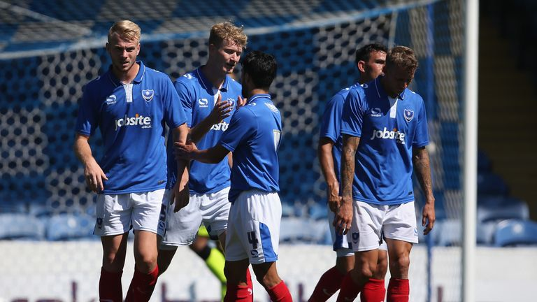Portsmouth are the Sky Bet favourites from League Two promotion this season