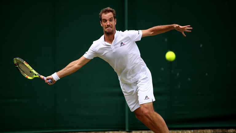 Richard Gasquet had to withdraw from Wimbledon with back injury that has cost him Olympics chance
