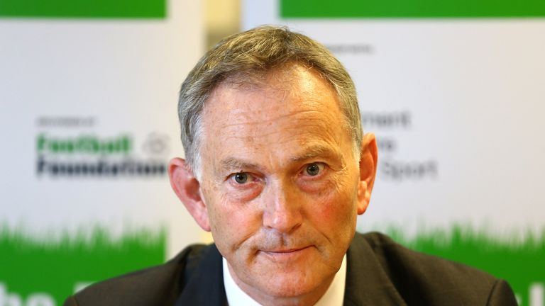 Executive chairman Richard Scudamore says clubs are looking at safe standing