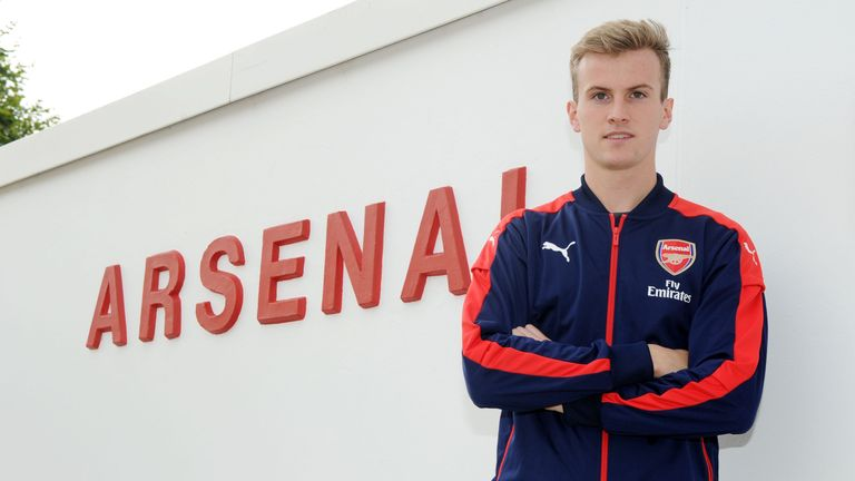Rob Holding has joined Arsenal from Bolton for an undisclosed fee
