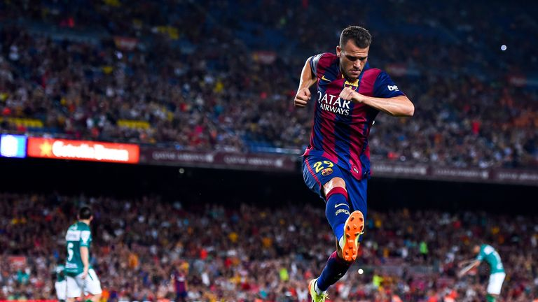 Sandro Ramirez has been linked with a move to the Premier League