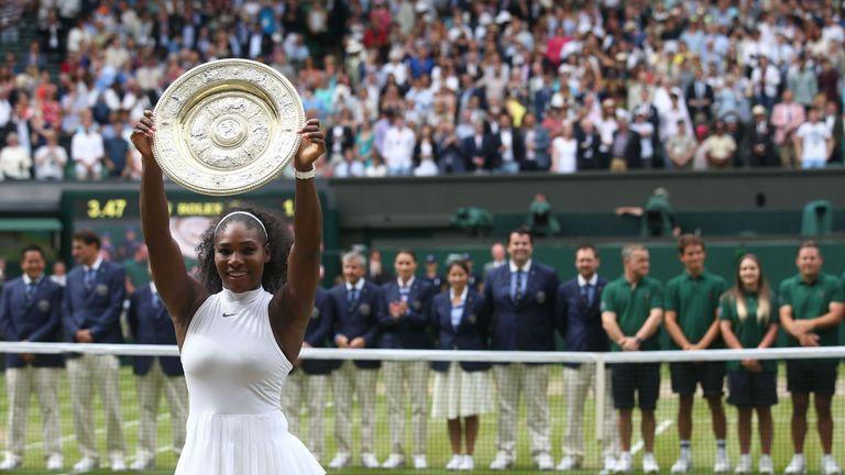 Serena Williams' Wimbledon win was her 22nd singles grand slam title
