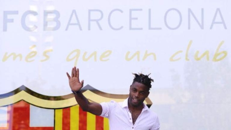 Song joined Barcelona in 2012