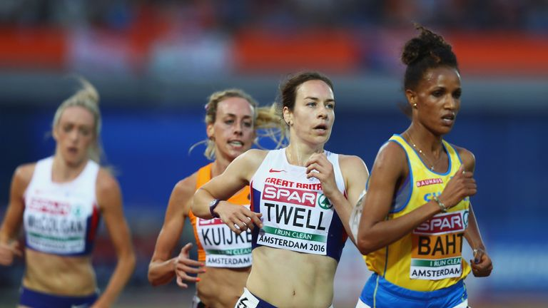 Steph Twell secured a bronze medal in the womens 5000m
