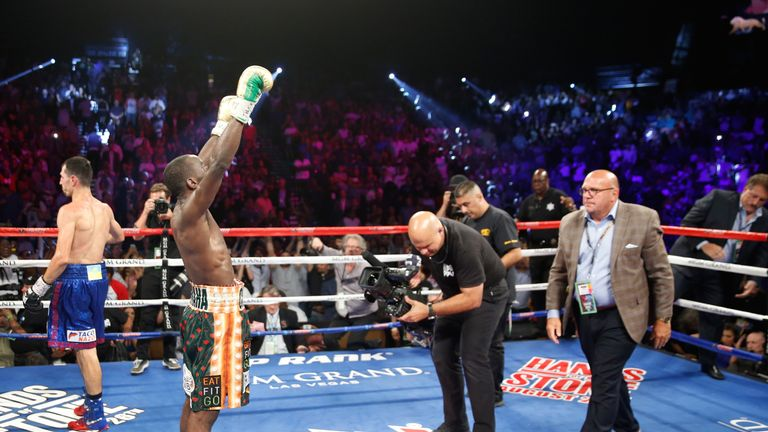 Crawford proved he is the best in the world at 140lbs