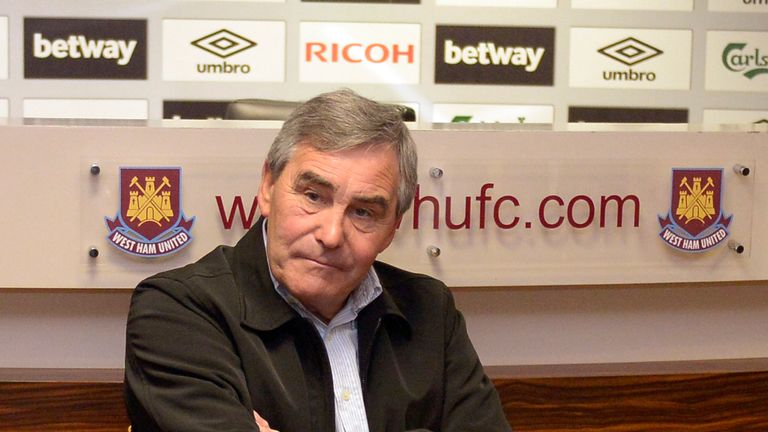 Tony Carr has left West Ham United after 43 years of service