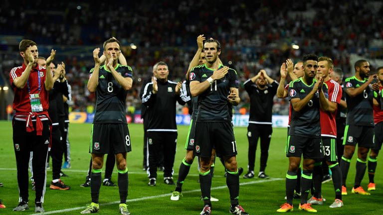 Wales have moved up to 11th in the FIFA world rankings