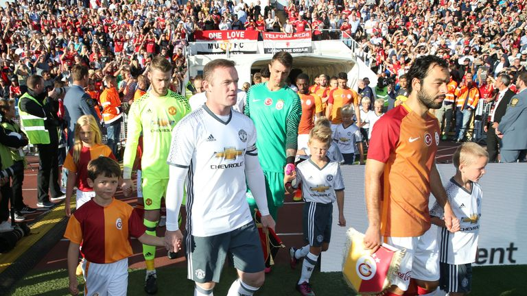 Wayne Rooney scored twice on his first start of pre-season