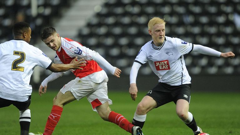 Will Hughes has already made over 100 appearances for Derby