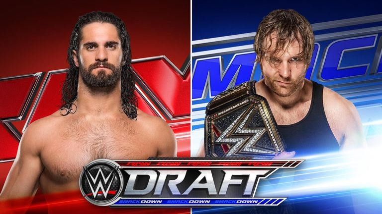 Seth Rollins is now a Raw Superstar with Dean Ambrose on Smackdown
