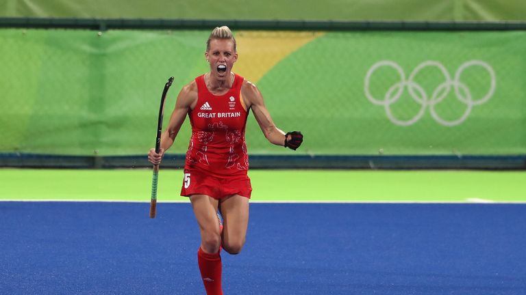Alex Danson was one of the heroes of Britain's triumphant team
