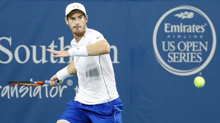 Andy Murray beats Juan Monaco in straight sets in Cincinnati