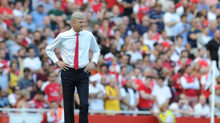 Wenger's bid in the region of £30m was rejected by Lyon in July