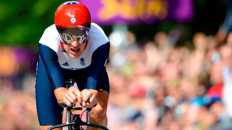 Sir Bradley Wiggins won time trial gold at London 2012
