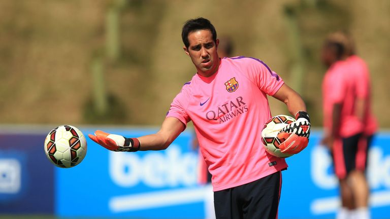 Claudio Bravo has been signed by Manchester City