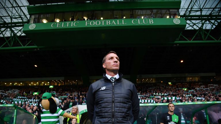 Brendan Rodgers paid tribute to the club's 'great supporters'
