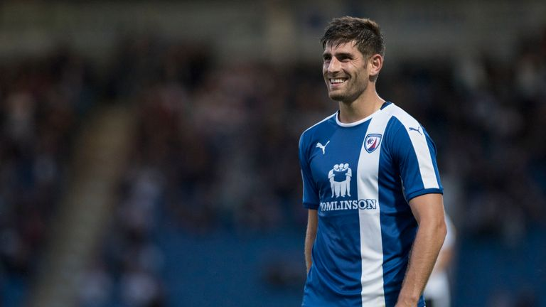 Ched Evans: Back on the sidelines again