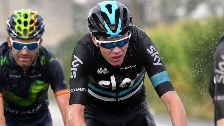 Chris Froome is 32 seconds off the overall lead
