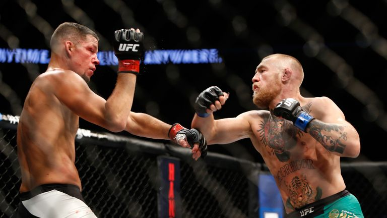 Diaz defeated Conor McGregor in 2016 before losing to the Irishman in a rematch