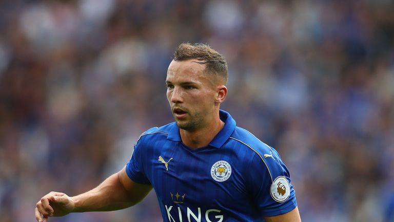 Danny Drinkwater helped Leicester City to the Premier League title