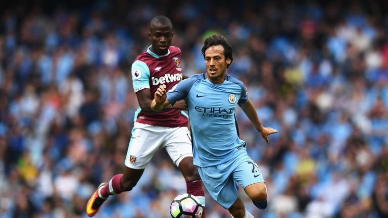 Alonso has noted how City's attacking players, including David Silva, are pressing harder