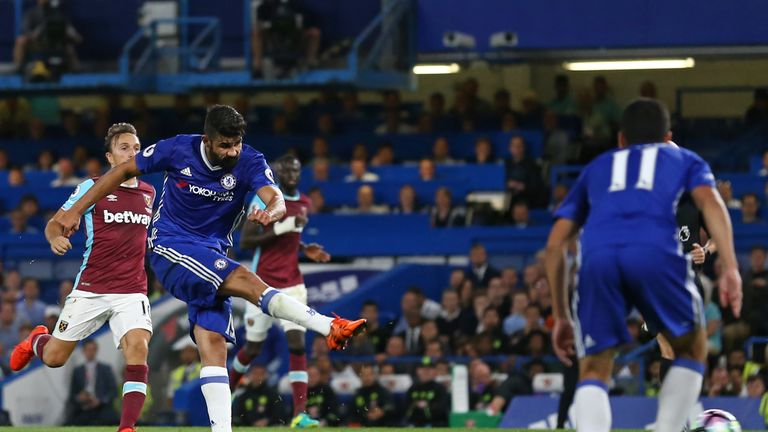 Costa drilled the ball beyond Adrian to win the game for Chelsea late on