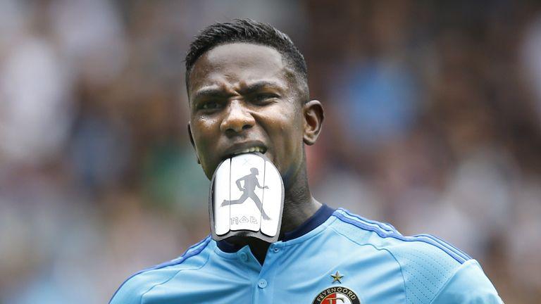 Eljero Elia netted a hat-trick for Feyenoord
