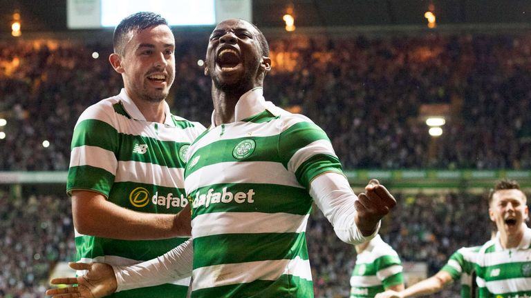 Moussa Dembele and Celtic will take on Hapoel Be'er Sheva in the next round