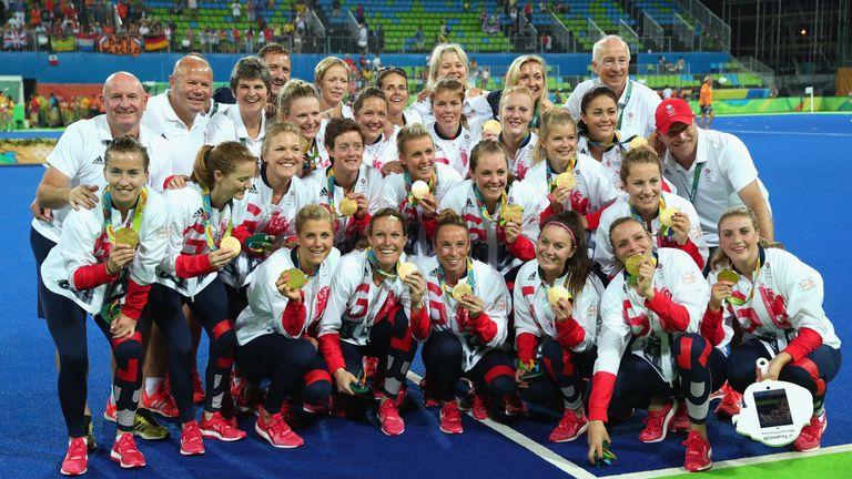 Britain's women won a first hockey gold in Rio