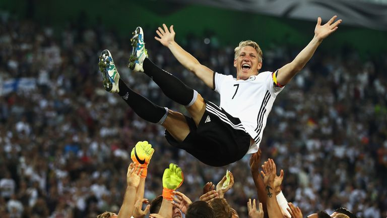 Schweinsteiger has retired from international duty with Germany