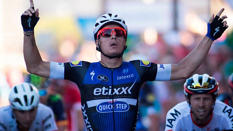 Gianni Meersman sprinted to victory on stage two