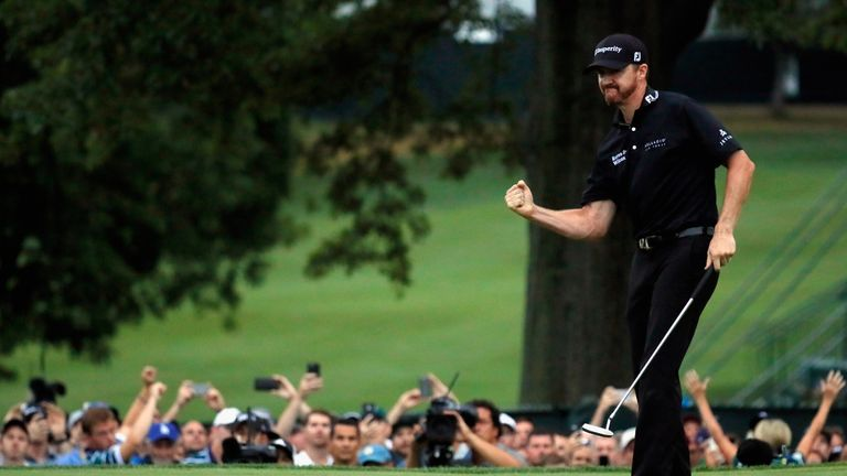 Jimmy Walker went on the front foot and completed a deserved win