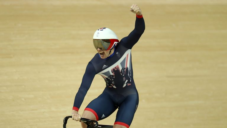 Jason Kenny won his fourth Olympic gold in the final of the team sprint on Thursday