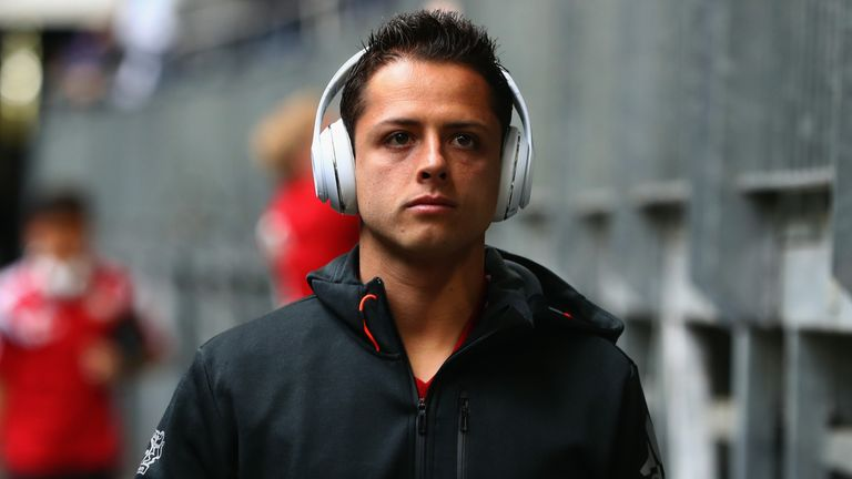 Javier Hernandez: will miss Bayer Leverkusen's league opener against Borussia Mönchengladbach on Saturday