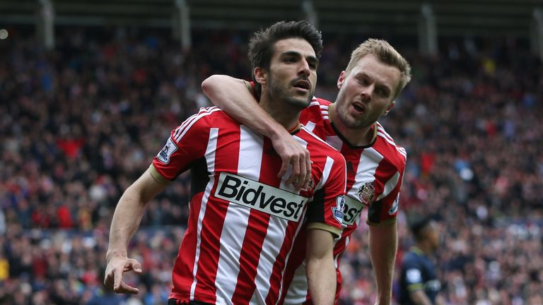 Jordi Gomez (left) has completed his return to Wigan