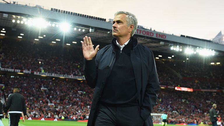 Mourinho is looking forward to the atmosphere at Old Trafford on derby day