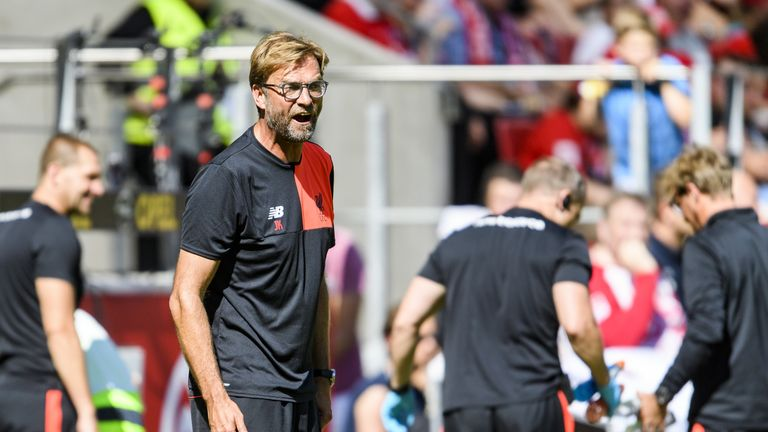Neville believes Jurgen Klopp's Liverpool could finish fourth in the table