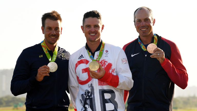 Rose became golf's first Olympic champion for 112 years