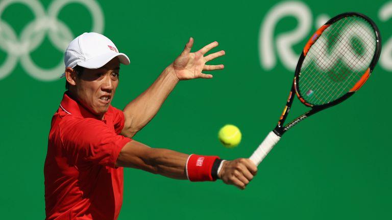 Kei Nishikori claimed bronze with a win over Rafa Nadal