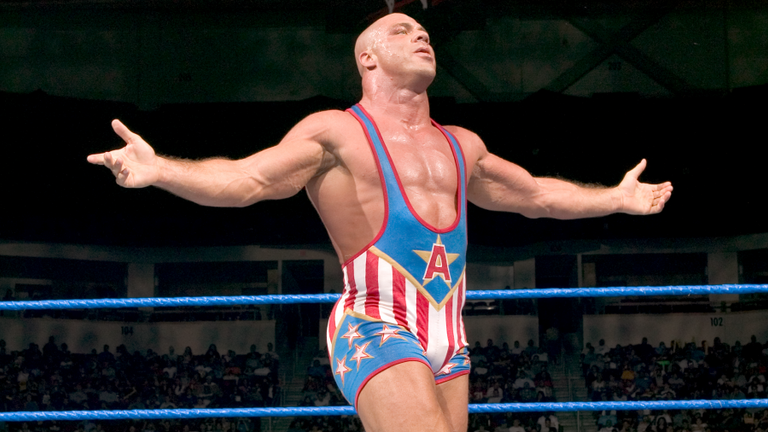 Angle was a star for WWE in the late 1990s and early-to-mid 2000s