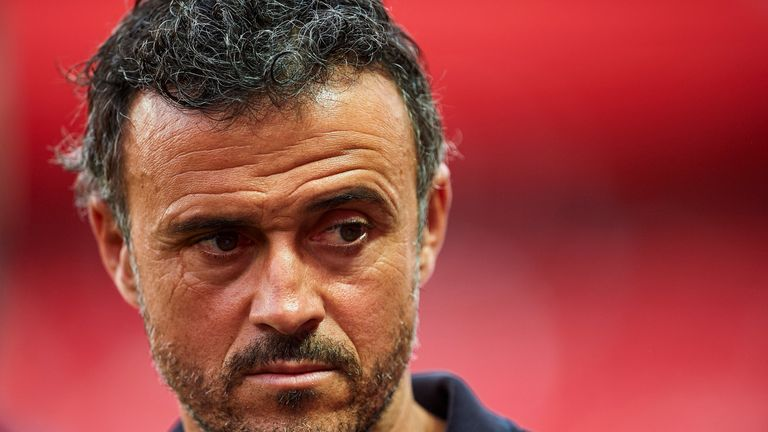 Barcelona manager Luis Enrique is expecting another gruelling game at Athletic Bilbao when the La Liga champions visit on Sunday