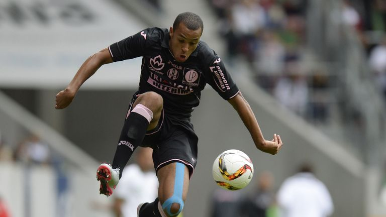 Marcel Tisserand in action for Toulouse on loan last season