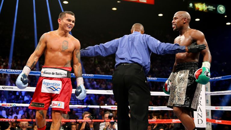 The Argentine fighter shared two fights with Floyd Mayweather