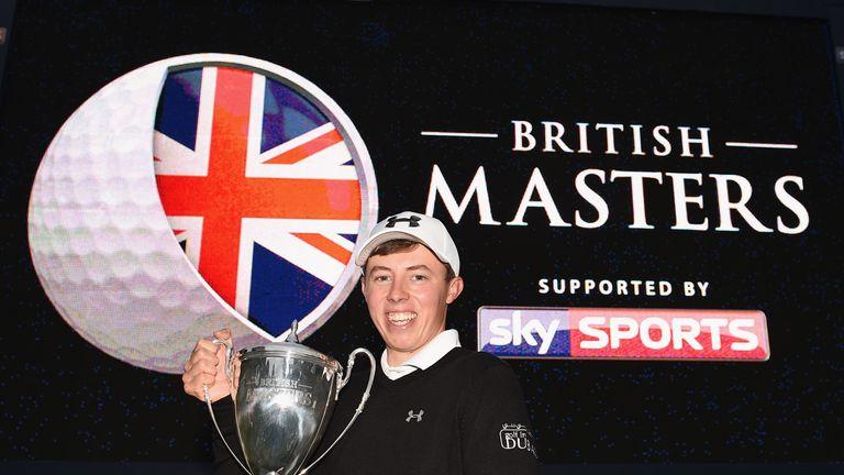 Matt Fitzpatrick claimed his maiden European Tour title at Woburn last season
