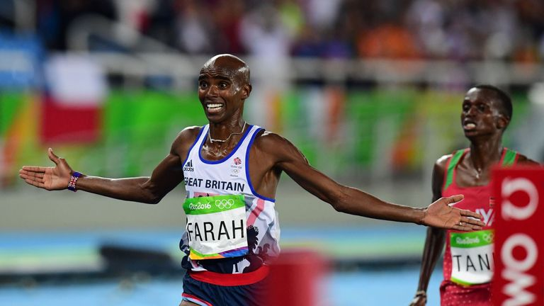 Mo Farah added two more gold medals to his collection